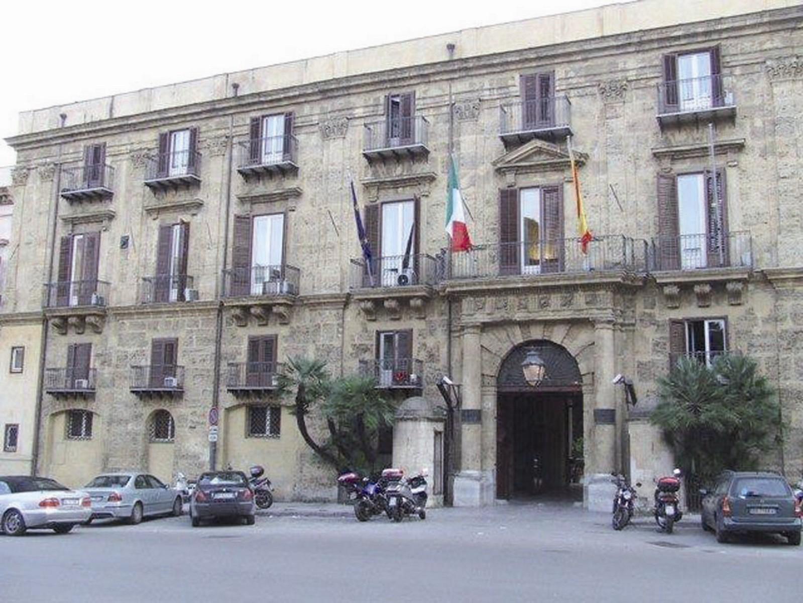 Palazzo d'Orleans - Sede della Presidenza della Regione siciliana