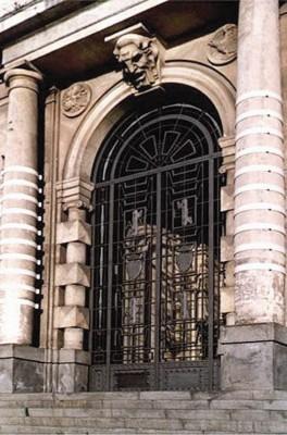 L'ingresso della Camera di Commercio di Catania