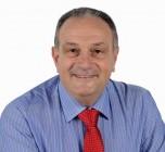 Il candidato sindaco di Acireale Michele Di Re che andrà al ballottaggio con Roberto Barbagallo