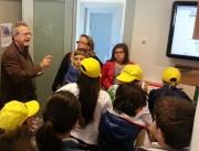 Il direttore della Casalotto SpA Nino Guidotto risponde alle domande degli studenti