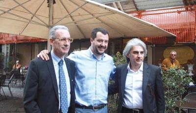 Attaguile, Salvini e Tanasi