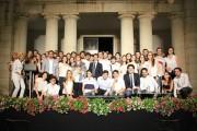 Foto di gruppo con gli allievi della Scuola Superiore di Catania