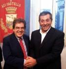 Enzo Bianco, sindaco di Catania, e Filippo Drago sindaco di Aci Castello