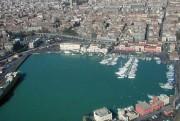 Una veduta dall'alto del Porto di Catania