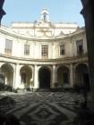 Il cortile del Convitto Cutelli a Catania
