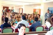 La conferenza stampa di Una ragazza per il cinema (foto Francesco Bonaccorso)