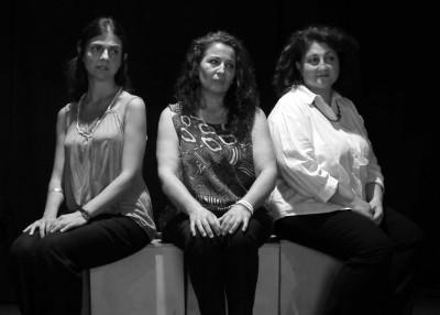 Letizia Tatiana Di Mauro, Antonella Rotondo e Carmelisa Puglisi