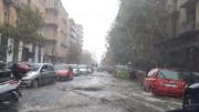 Maltempo Catania V.le-Veneto (foto archivio)