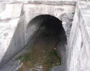 Canale di gronda, tratto finale a est