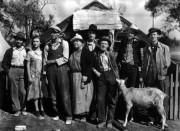 La famiglia Joad protagonista del film Furore, ambientato nell'America della Grande Depressione