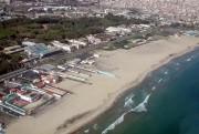 CATANIA  07/11/2002 : Plaja   (foto aeree da elicottero Vigili Fuoco)