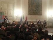 Matteo Renzi a Palazzo degli Elefanti