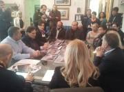 Riunione con il presidente Crocetta al comune di Aci Castello