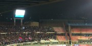 I tifosi al Massimino per Catania Latina