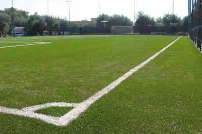 Uno scorcio del campo di calcio di San Giovanni la Punta