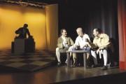 Una scena del Verdetto sul palco del Teatroimpulso