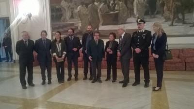 L'incontro al comune di Catania