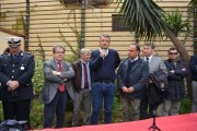 Bianco e D'Agostino durante l'assemblea di solidarietà organizzata sabato scorso