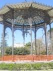 Il palco della musica villa bellini catania