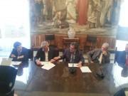 Metro a Catania, incontro al comune con l'ass. regionale Pizzo, il sindaco Bianco e il commissario Fce Di Giambattista