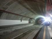 Stazione di corso Sicilia, il tunnel lato est