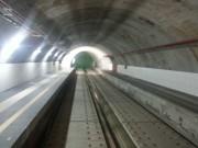 Stazione di corso Sicilia, il tunnel lato ovest
