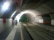 Stazione di corso Sicilia, la fine del tunnel verso piazza Stesicoro