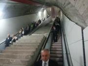Stazione di corso Sicilia, scale mobili