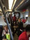 Treno strapieno Catania-Palermo foto Florinda Mattaccini