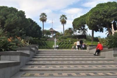L'ingresso della Villa Bellini