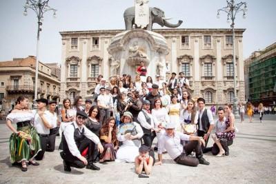 05 G FOTO - Flash mob catania contro la mafia