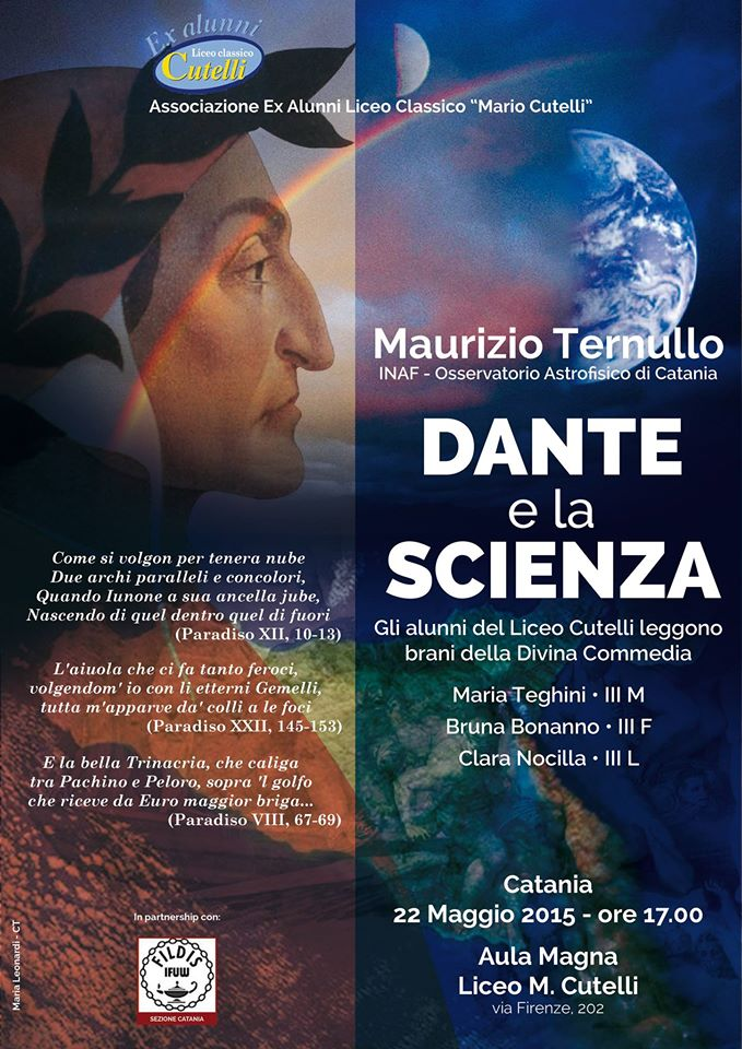 Dante e la scienza Cutelli