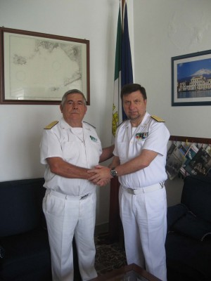 L'ammiraglio De Michele e Martello