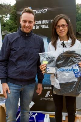 Mirko Vecchio premia Santa Saitta