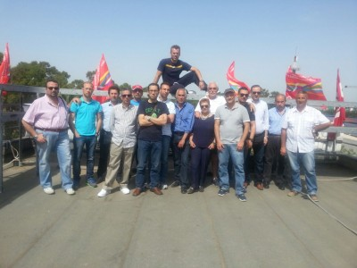 Bianco incontra i lavoratori della Myrmex