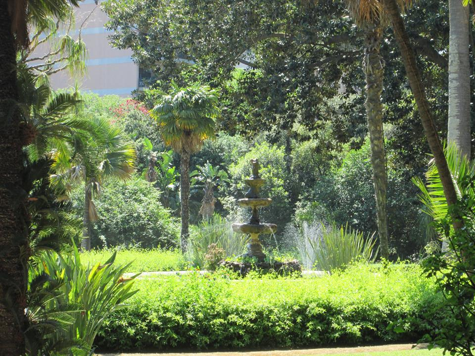 04 A - Villa Malfitano, la fontana