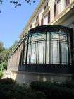 Villa Malfitano, la vetrata in stile
