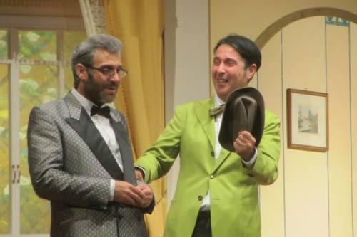 Nino Spitaleri ed Aldo Di Nolfo (Compagnia Oltre le Camene)