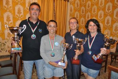 I premiati del concorso Dugongo di Milazzo. Tony Palermo, Monica Strano e Graziella Basile NEW