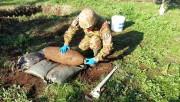 Una bomba da 250 libbre (foto archivio militarynewsfromitaly)