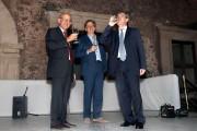 Carlo Saggio, Turi Abate e Roberto Monteforte