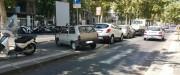 Corso Italia. Sulle discese per i disabili il parcheggio è più facile...