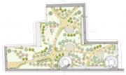 Parco urbano planimetria