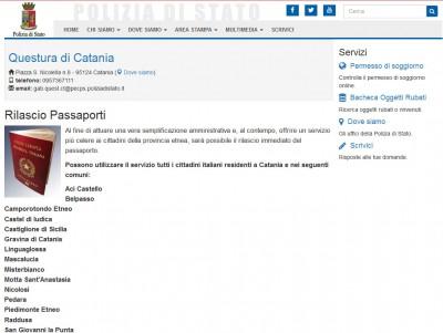 Passaporto subito catania la prima in italia ecco for Bollettino precompilato