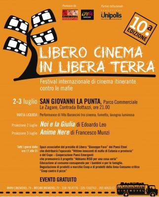 Locandina Libero cinema
