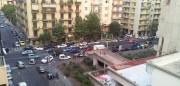Parcheggio creativo in viale V. Veneto a Catania