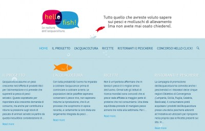 hello fish home page