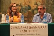 Rita Di Trio curatrice mostra statue lignee di Bagnasco