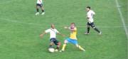 Un momento dell'incontro di Coppa tra lo Sporting e l'Aci S. Antonio