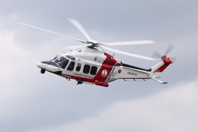 elicottero 2° nucleo aereo guardia costiera catania